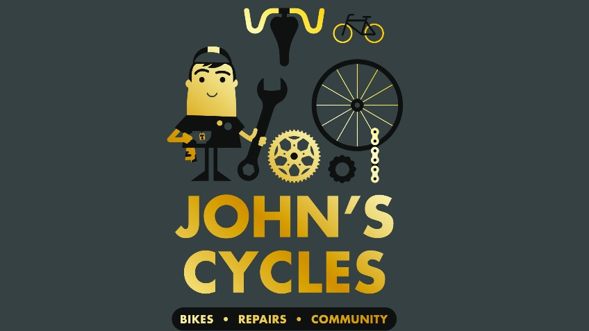 John's Cycles bicycle shop community projects