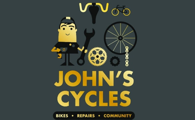John's cycles bicycle shop community projects image