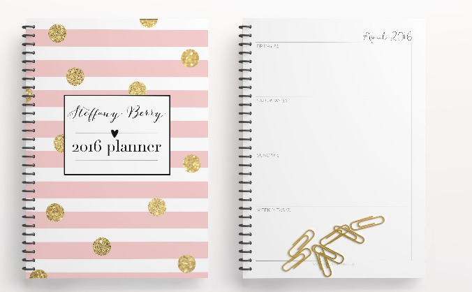 Planner Addicts 2016 Custom Planner An Arts Crowdfunding