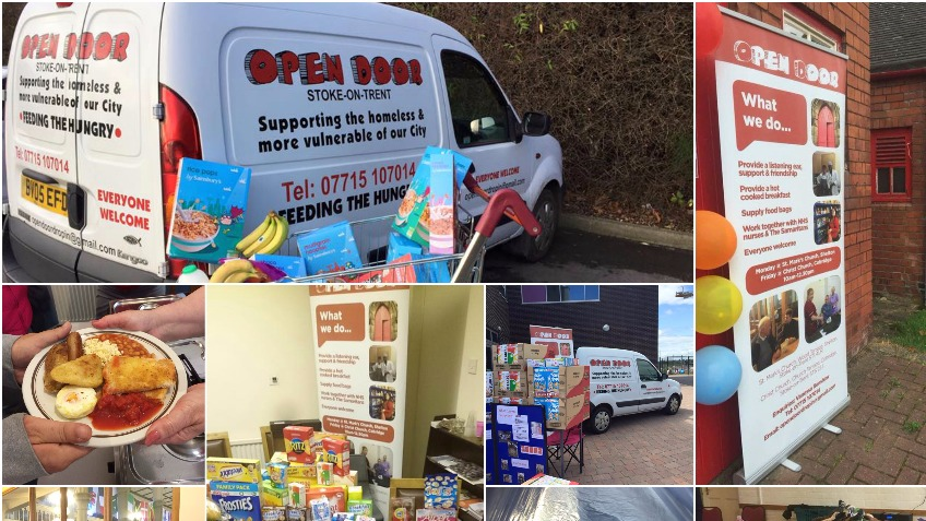 Collection Van for Homeless Charity