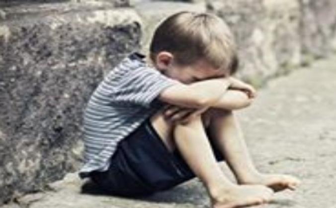 Homeless children image