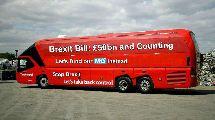 National bus tour - the truth about Brexit