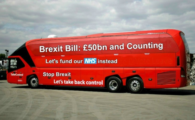 National bus tour - the truth about brexit image