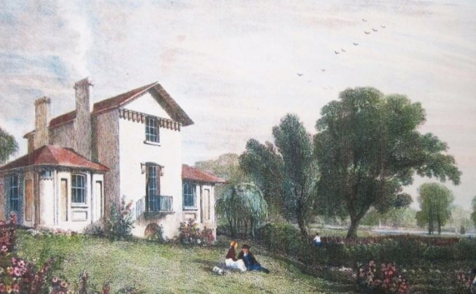 Saving sandycombe: jmw turner's twickenham retreat image