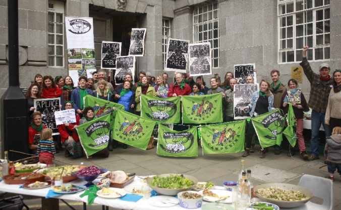 Landworkers' alliance : more farmers, better food image