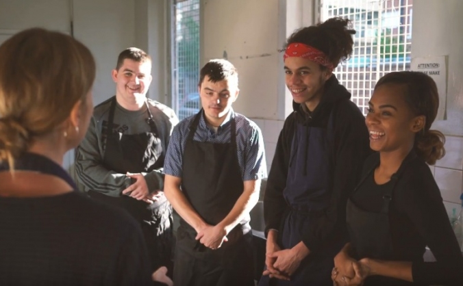 Fund a home for trainee chefs image