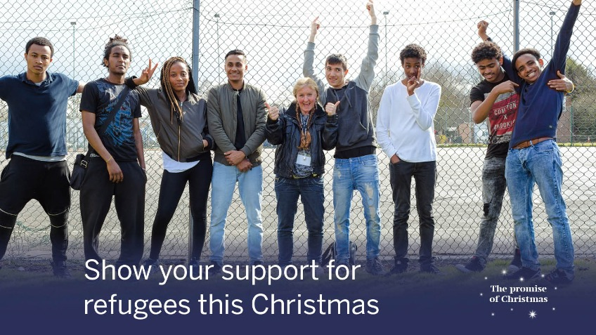 Show your support for refugees this Christmas