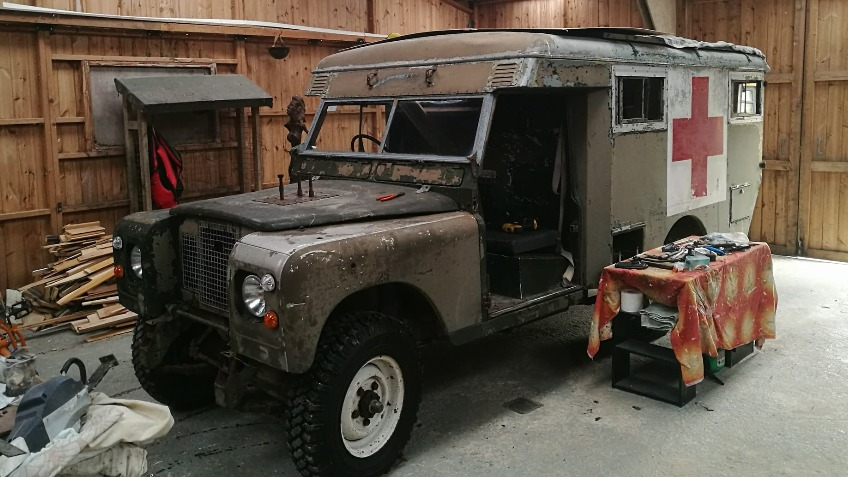 Land Rover Series 2a Ambulance A Heritage Crowdfunding