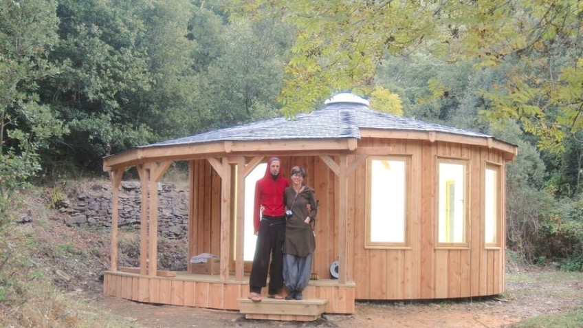 Yurt for young men's mental health  initiative
