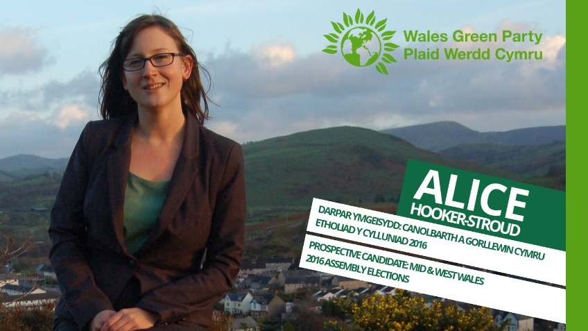Elect Alice Hooker-Stroud as Wales' first Green AM