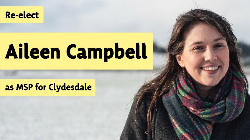 Re-elect Aileen Campbell MSP