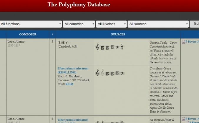 Polyphony database improvements image