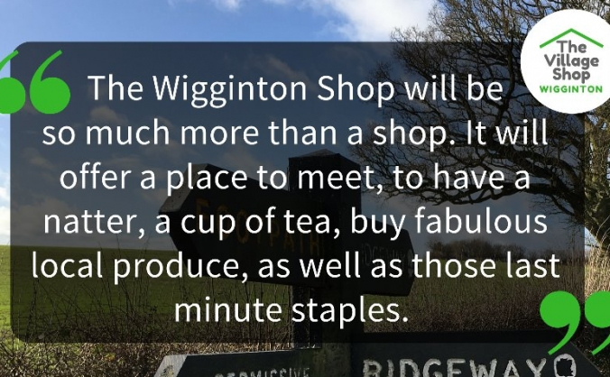 Wigginton village shop image