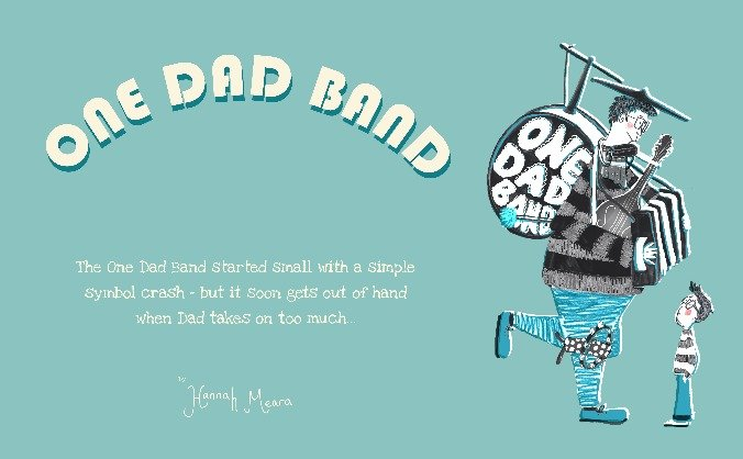 One dad band  - vote with your feet publishing image