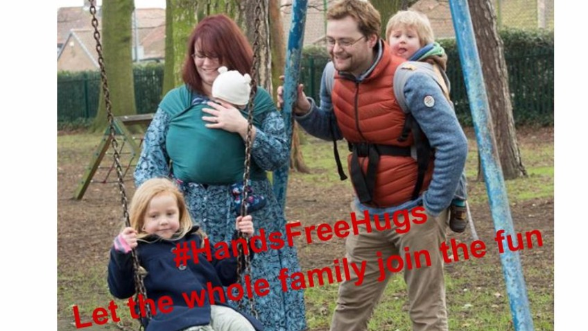 Hands Free Hugs Project - Babywearing Awareness
