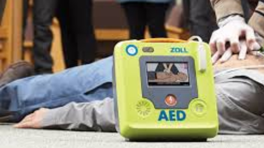 Start the Heart defibrillator for Lovelace Primary