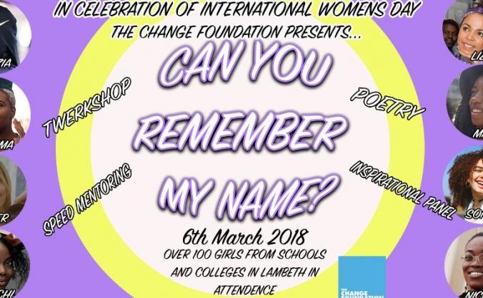 The change foundation - international women's day image