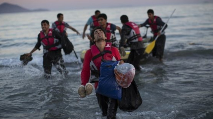 Aid to Migrants Arriving in Greece