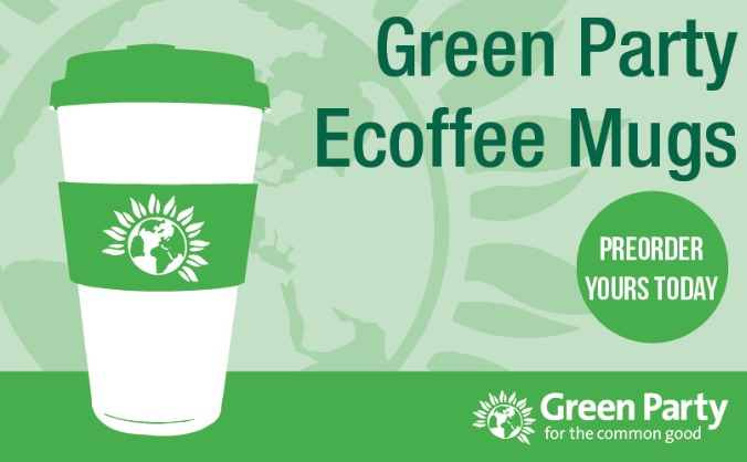 Green Party Travel Coffee Mugs