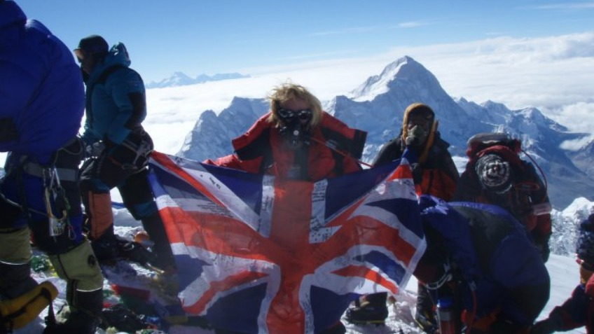 Be the 60 th woman ever to Climb the Seven Summits