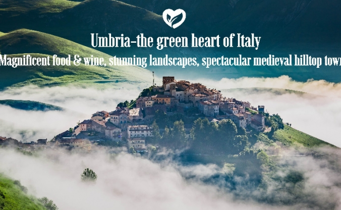 The taste of umbria image