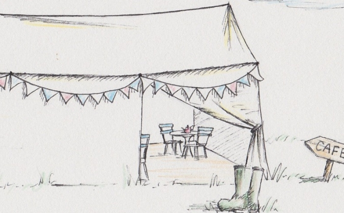 Canvas cafe @ country bumpkin yurts image