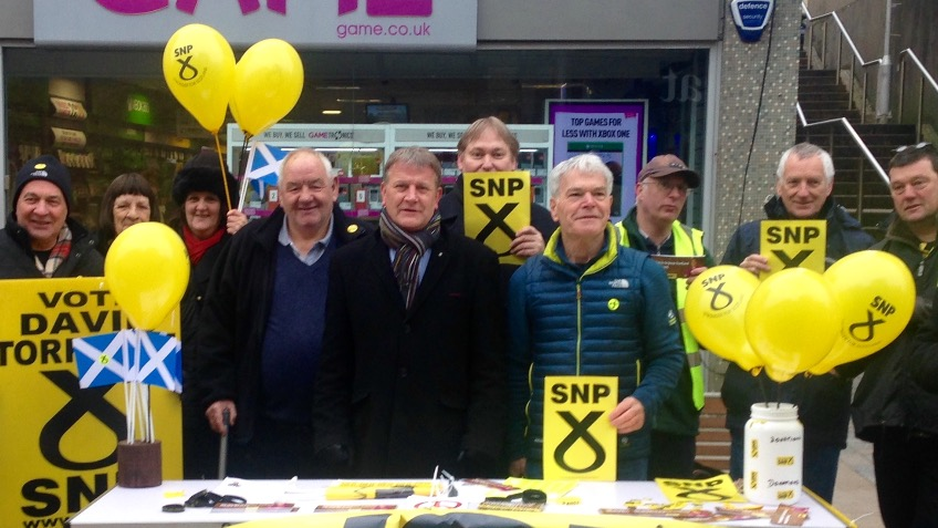 re-elect David Torrance SNP to Holyrood
