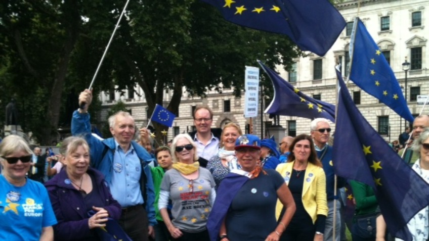 Suffolk EU Alliance Great Eastern March
