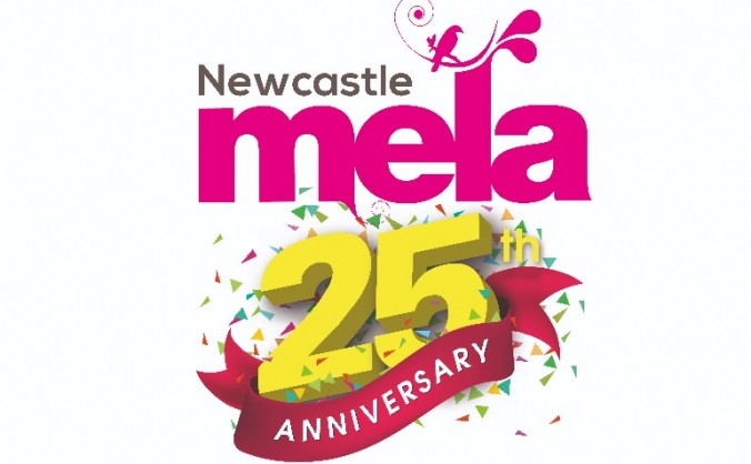 Newcastle mela 25th anniversary image