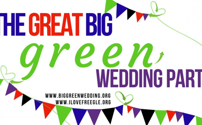 The great big green wedding party image