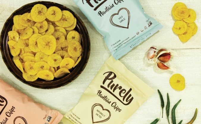 Purely plantain chips image