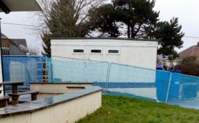 Elburton primary school jubilee playground image