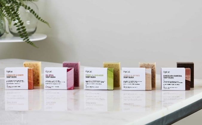 Optiat chai soaps launch! image