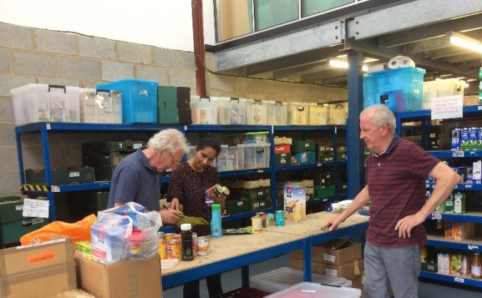 Harrow foodbank image