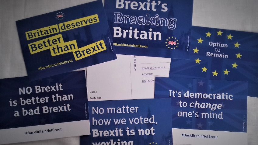 National  pro Remain Postcards Campaign