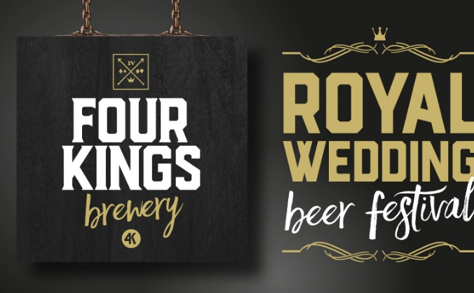 Four kings royal wedding beer festival image