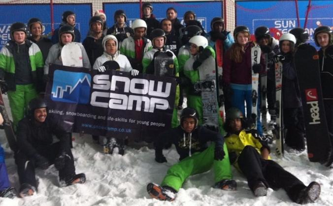 24 hour ski marathon in aid of snow camp image