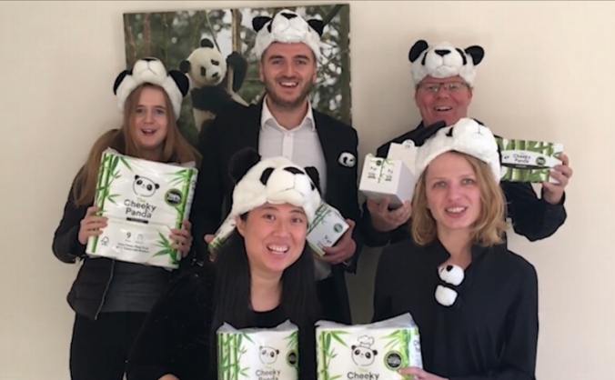 The cheeky panda - creating a sustainable future image