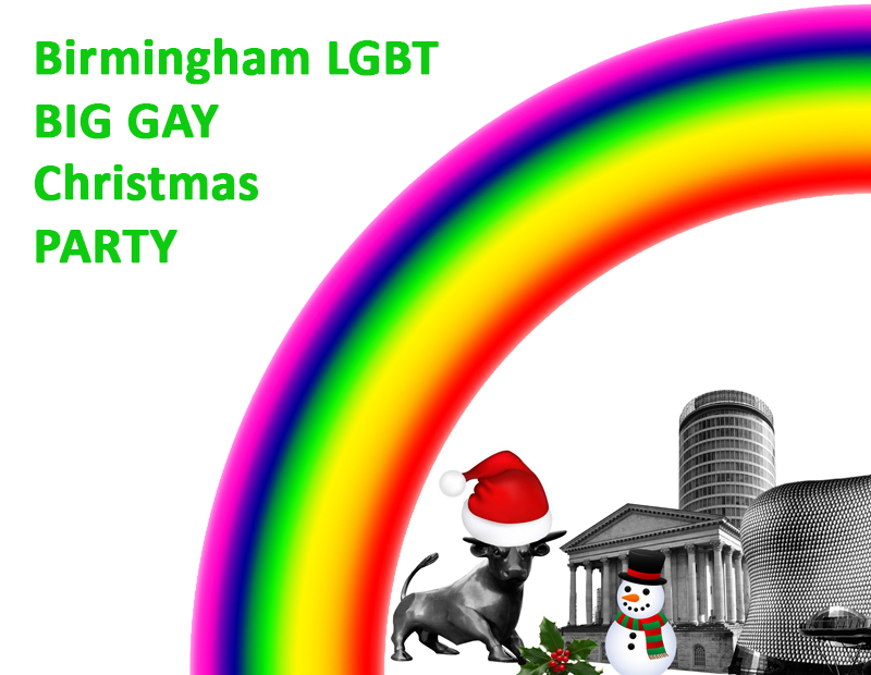Christmas Party Birmingham Part - 34: LGBT Christmas Party Birmingham