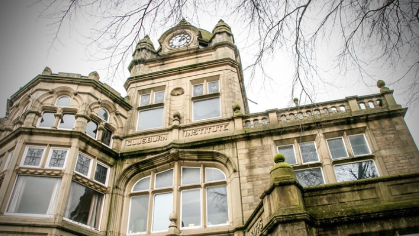 Refurb of Grade II listed Glusburn Institute