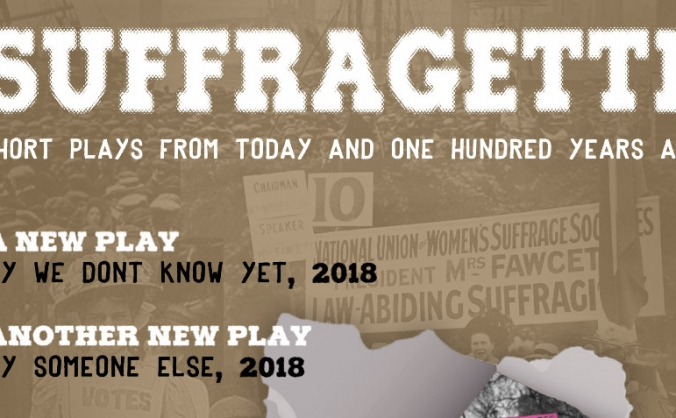 Suffragette - an evening of new short plays image