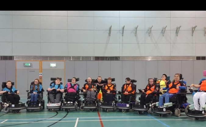 Ocean city pfc-plymouth's powerchair football club image