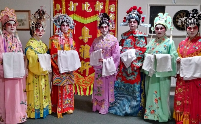 Out reach cantonese opera image