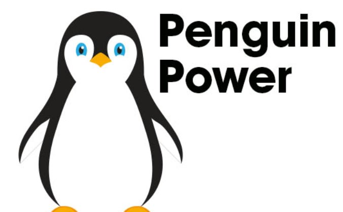 Penguin power image