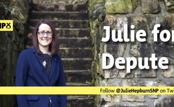Julie hepburn for snp depute leader image