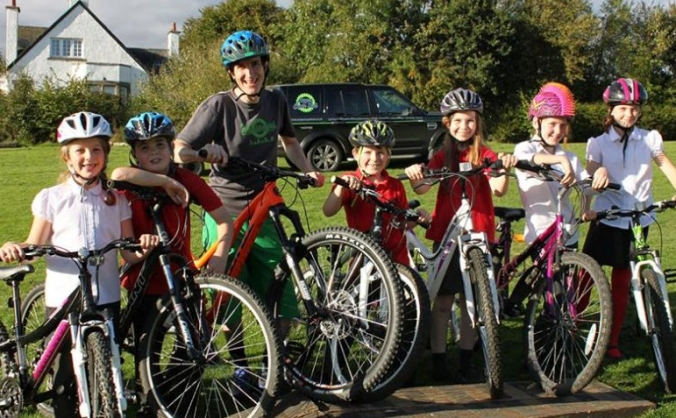 The angus cycling festival image