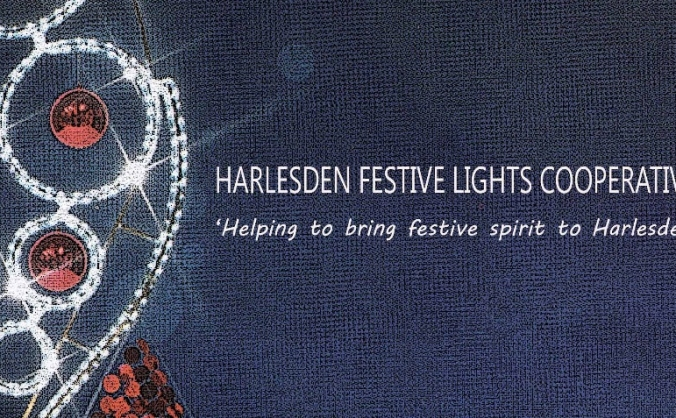 Harlesden festive lights campaign 2018 image