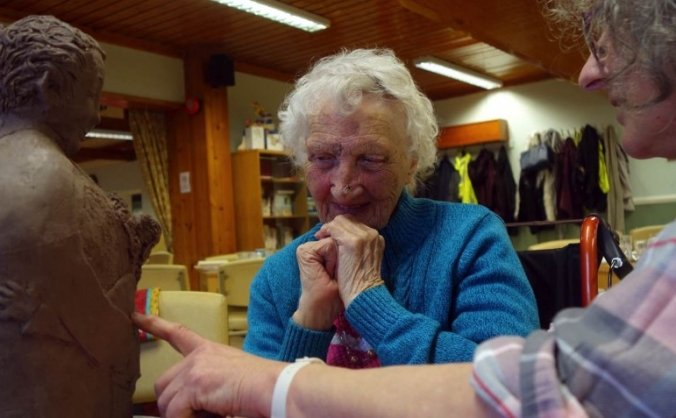Ceramics for elders at the grange image