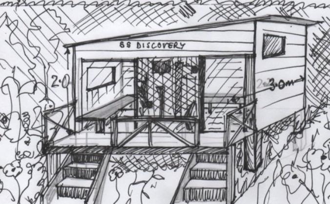 Ernesettle discover shack image