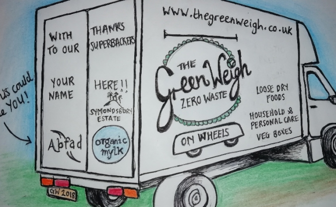 The green weigh, zero waste shop on wheels! image